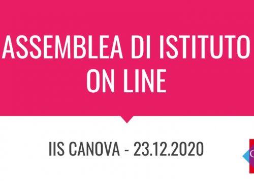 Qui disponibile il video di saluto della Dirigente e di apertura dell'assemblea d'Istituto on line – 23.12.2020
